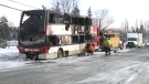 CTV Ottawa: Everyone safe after bus catches fire