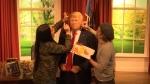 Wax Donald Trump figure