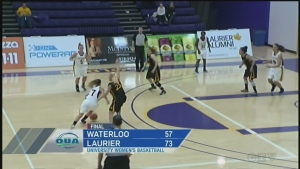 CTV Kitchener: Golden Hawks hold off Waterloo