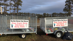Thieves stole can donations from Shriners Club in Simcoe. (jan. 21, 2017)