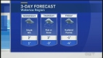 Mostly cloudy on Wednesday, and maybe some snow