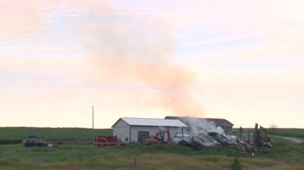 Suspicious Fire In Rockwood Thursday Evening