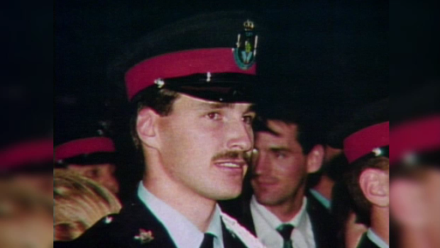 A photo of Cst. David Nicholson