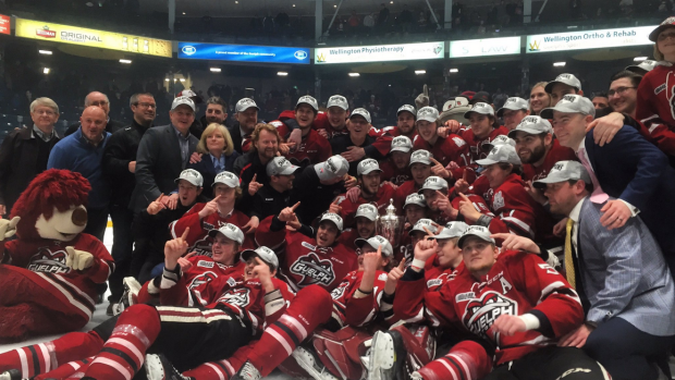 guelph storm sleeman ohl championship memorial cup