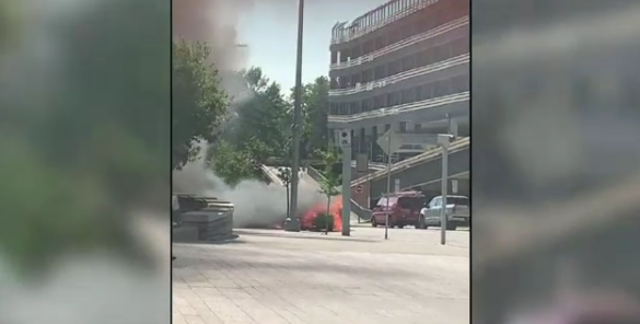 kitchener explosion courthouse car ied