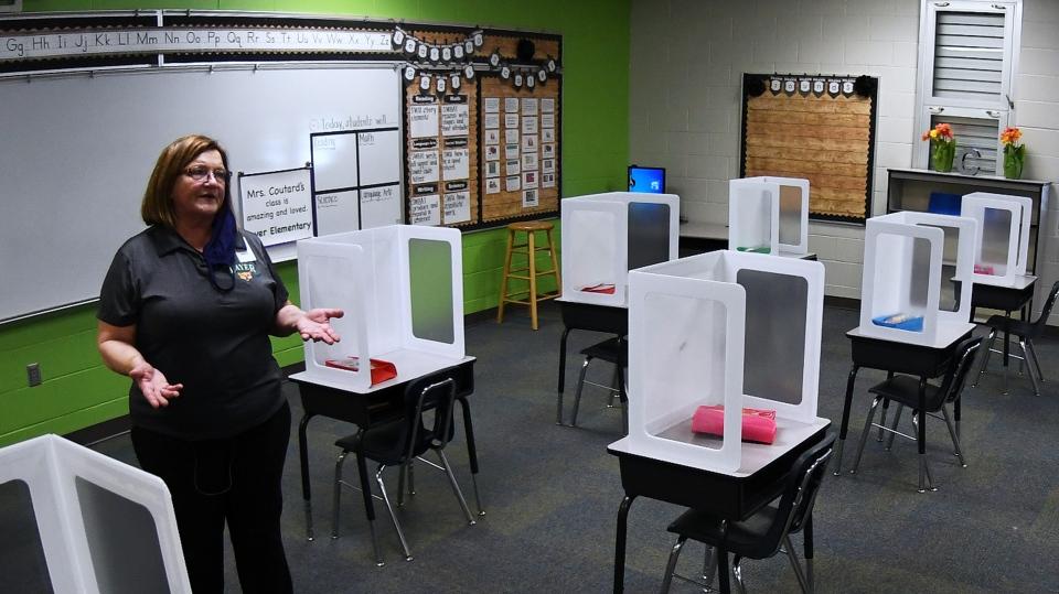 US schools covid