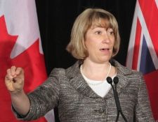 Ontario Education Minister Laurel Broten