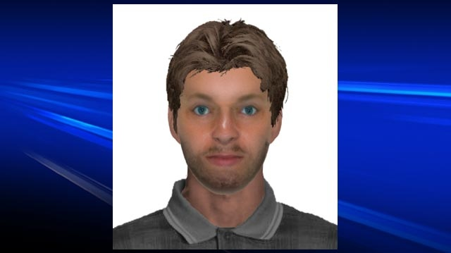 This composite sketch shows a man wanted in connection with a reported sexual assault in Kitchener, Ont. (Courtesy Waterloo Regional Police Service)