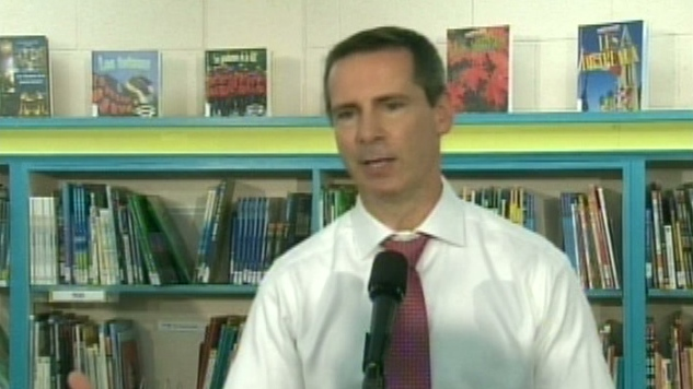 Ontario Premier Dalton McGuinty discusses the bill to freeze teachers' wages.