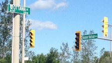 Dangerous intersection