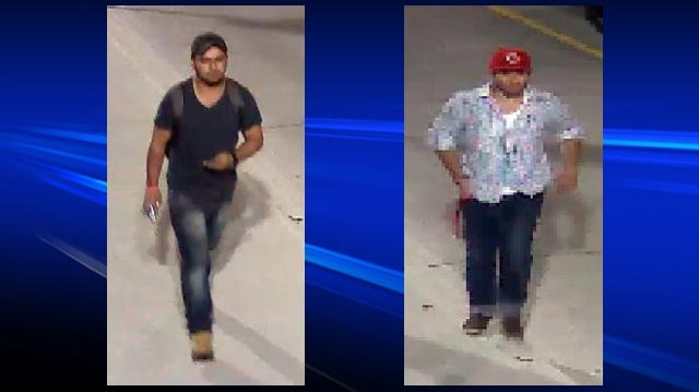 Guelph police are hoping to speak to two men believed to have witnessed an assault in Guelph, Ont. on Monday, Sept. 3, 2012.